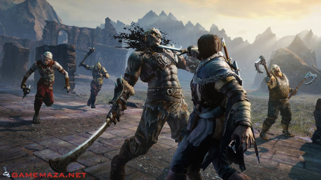 Games Like Bloodborne - Games Similar to Bloodborne - Very Hard Games Middle-Earth Shadow of Mordor 8