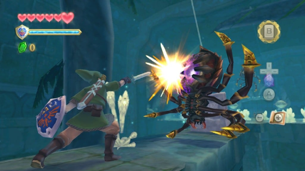 Games Like Bloodborne - Games Similar to Bloodborne - Very Hard Games The Legend of Zelda Skyward Sword 7
