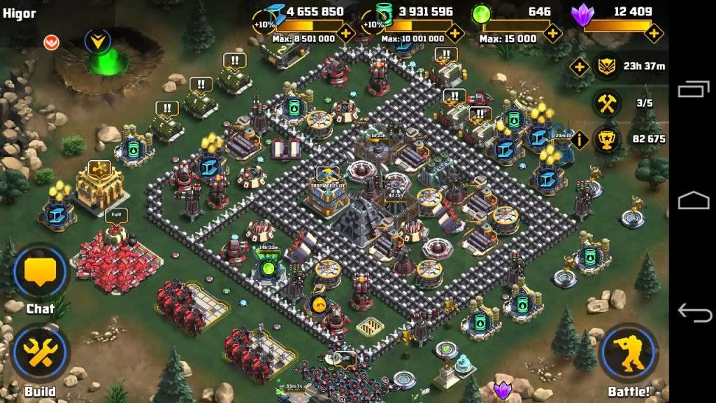 Games Like Boom Beach Battle Command