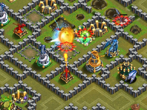 Games Like Boom Beach Battle Dragons
