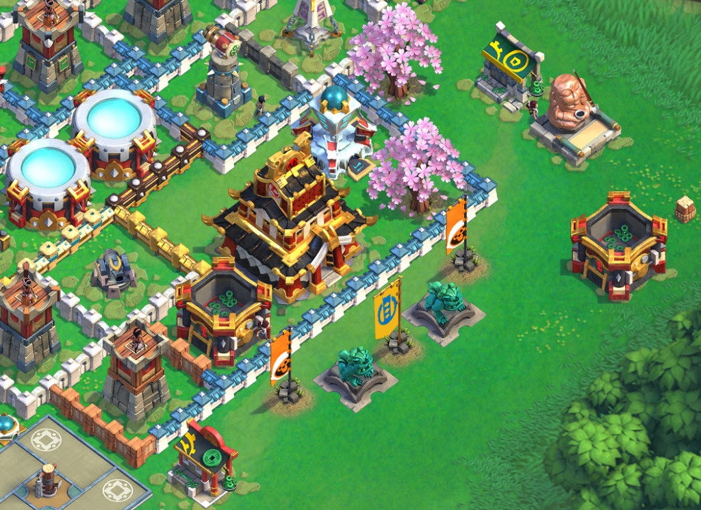 Games Like Boom Beach Samurai Siege