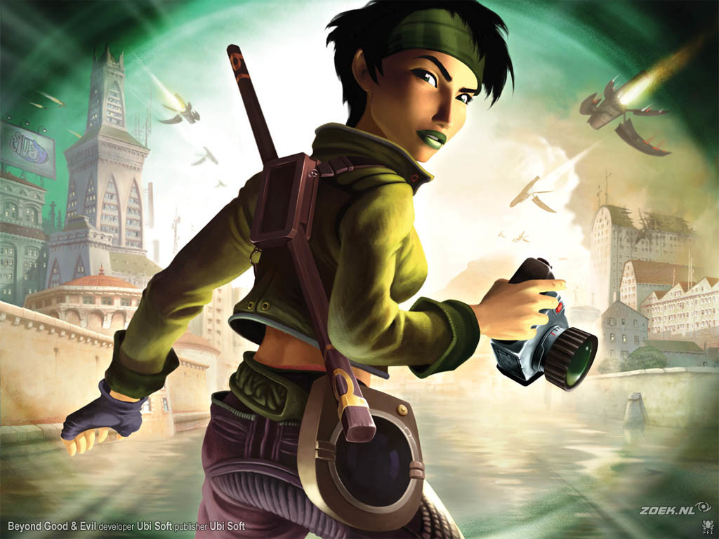 Kick-Ass Video Game Female Protagonists - Video Game Female Characters Jade 7
