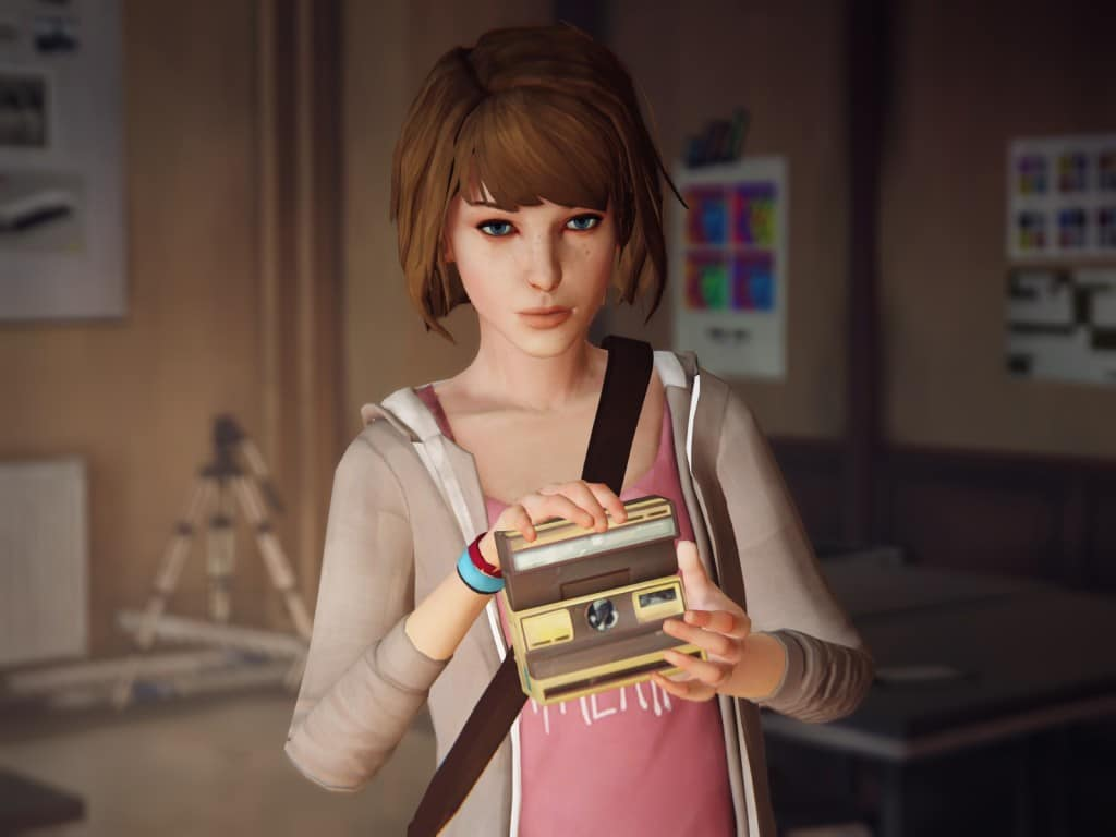 Kick-Ass Video Game Female Protagonists - Video Game Female Characters Max Caulfield 6