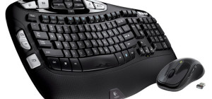 Best Wireless Keyboards Logitech Wireless MK550 Wave Combo