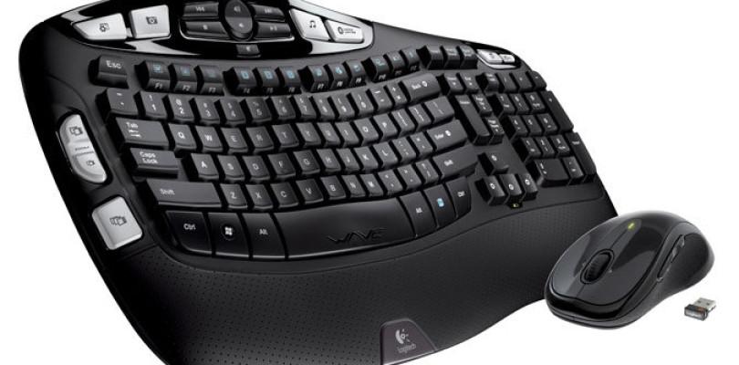 Best Wireless Keyboards Logitech Wireless MK550 Wave Combo