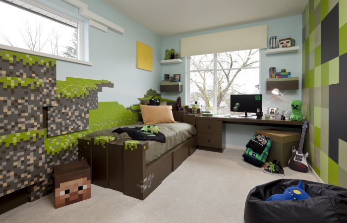 Best Video Game Rooms Theme Decors Designs Minecraft 2