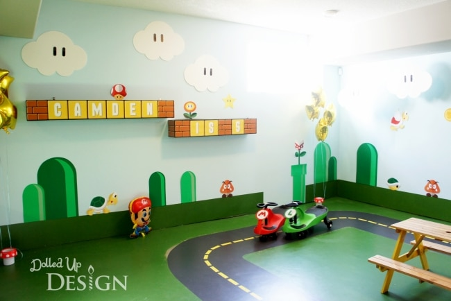 Best Video Game Rooms Theme Decors Designs Super Mario 3