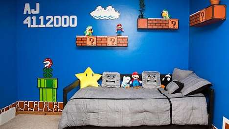 Best Video Game Rooms Theme Decors Designs Super Mario 5