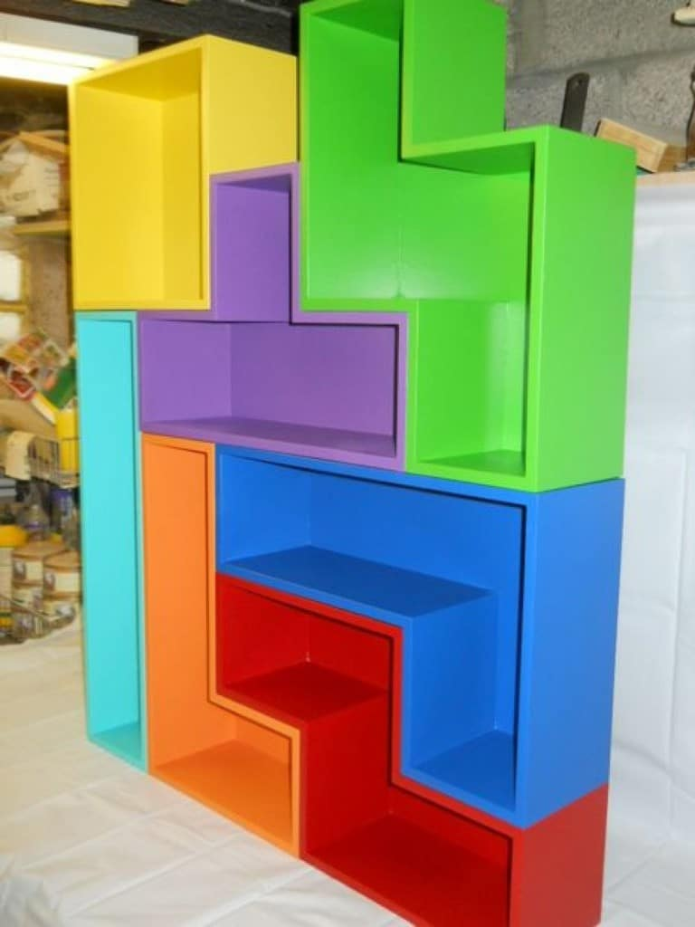 Best Video Game Rooms Theme Decors Designs Tetris