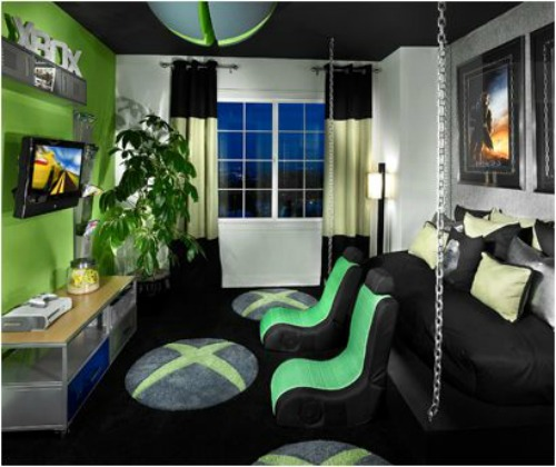 Best Video Game Rooms Theme Decors Designs Xbox