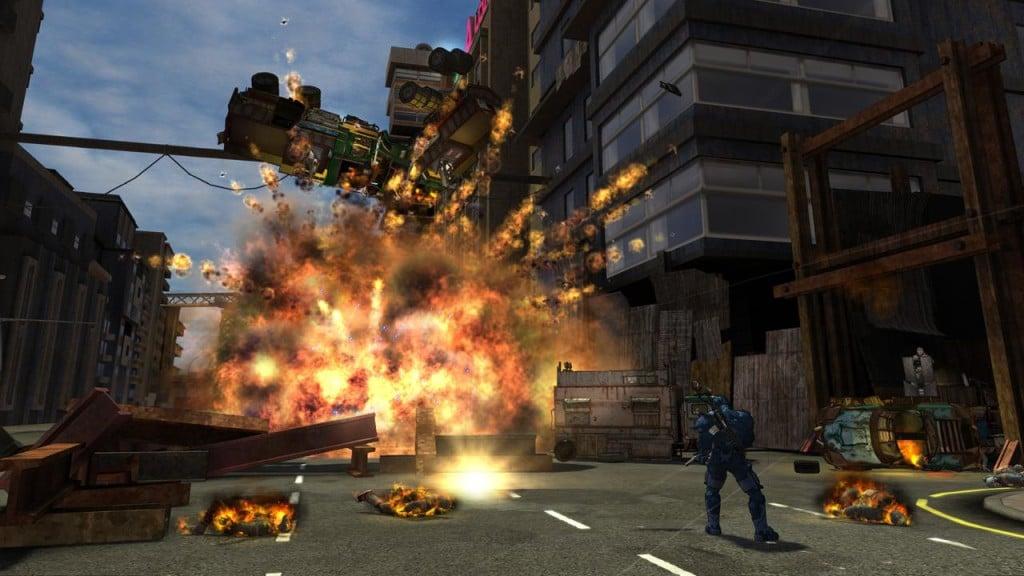 Games Like GTA V Grand Theft Auto Crackdown 2