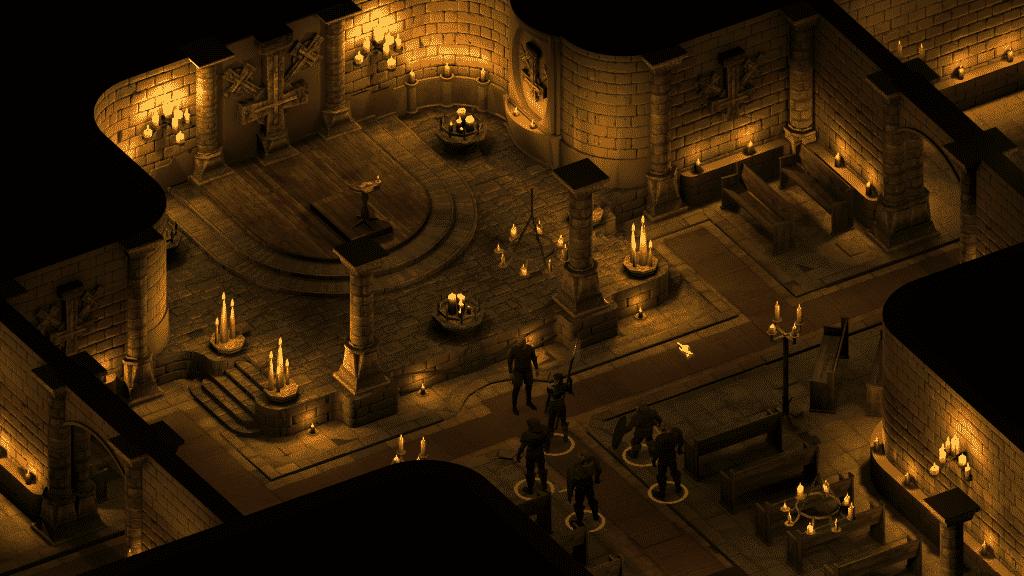 Best Games Like Baldur's Gate Black Geyser