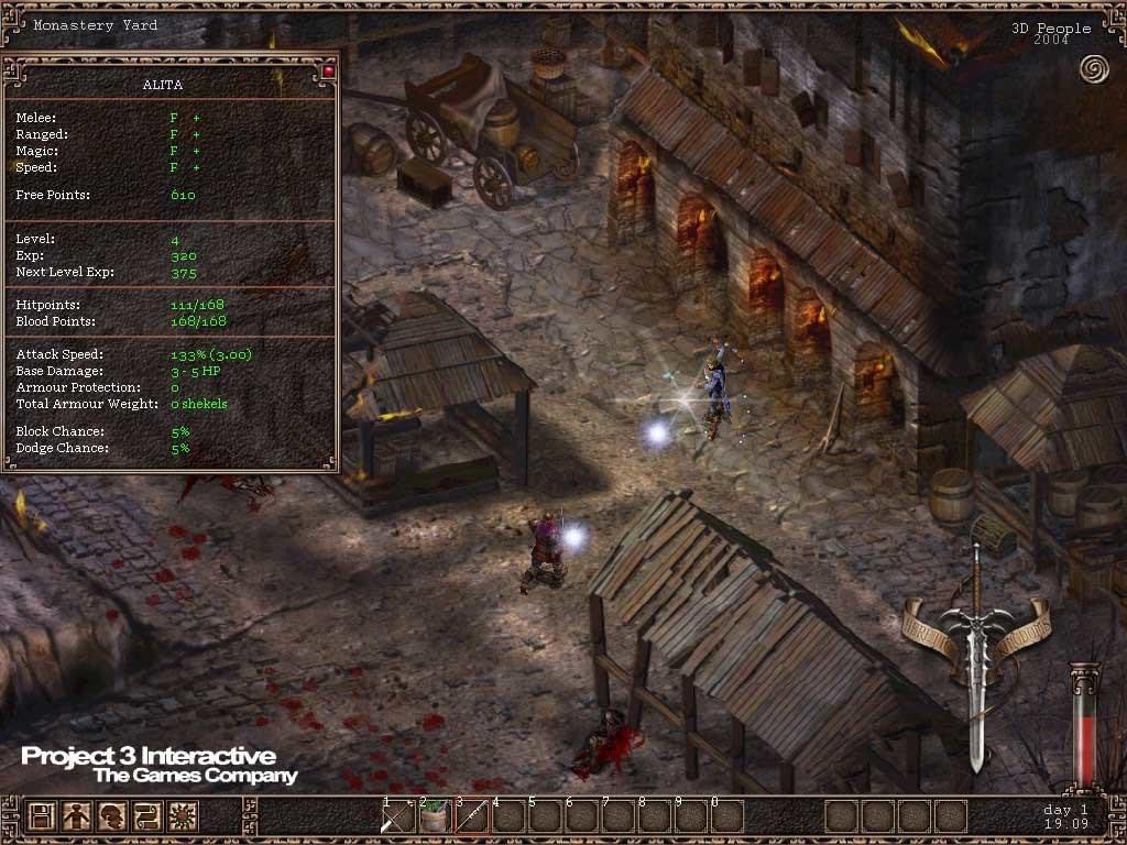 Games Like Baldur's Gate Similar To Kult Heretic Kingdoms