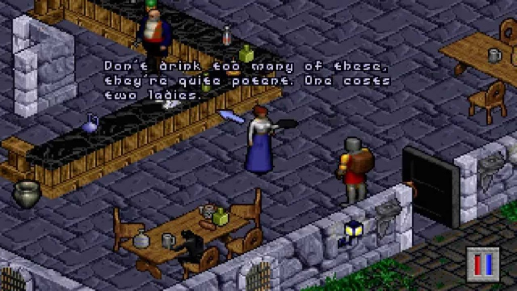 Games Like Baldur's Gate Similar To Ultima VIII