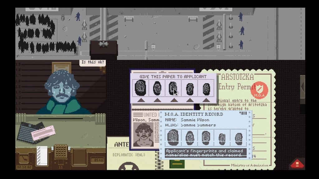 Games Like Undertale Papers Please