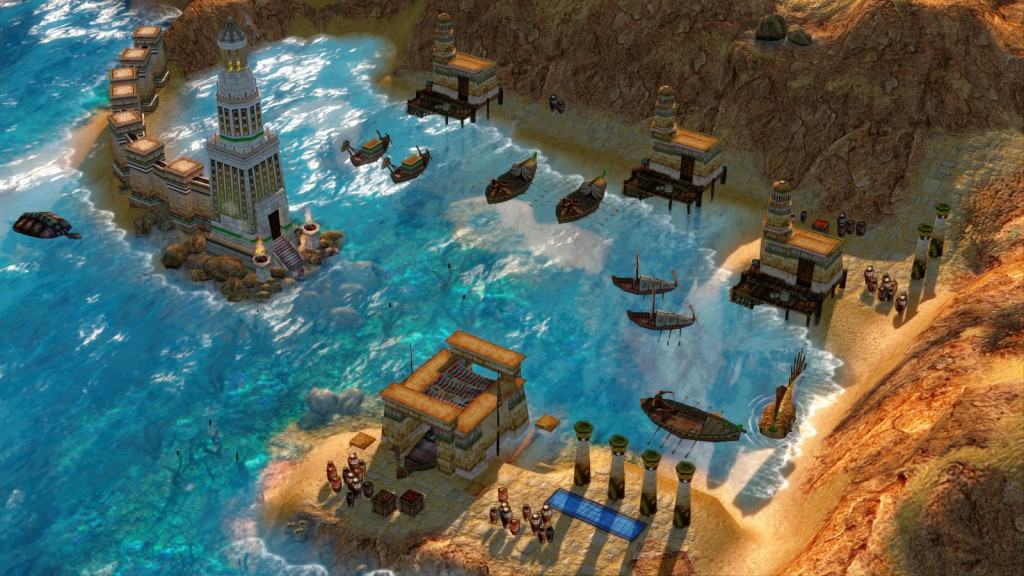 Real-Time Strategy Games Like Age of Empires Age of Mythology