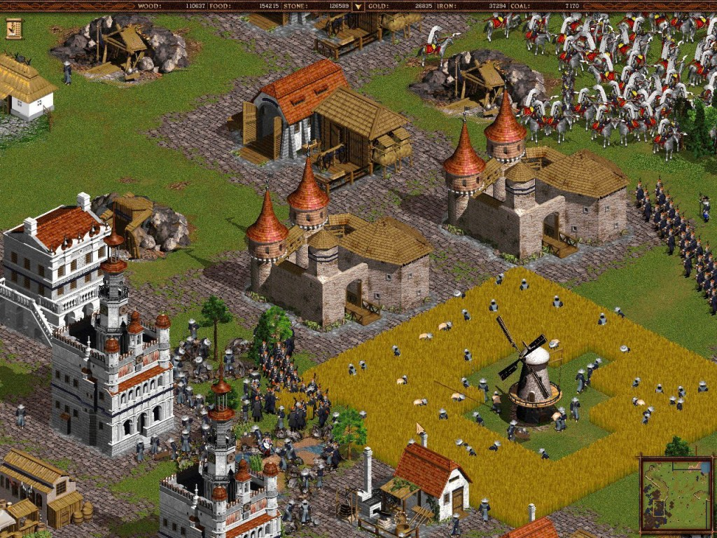 Real-Time Strategy Games Like Age of Empires Cossacks European Wars