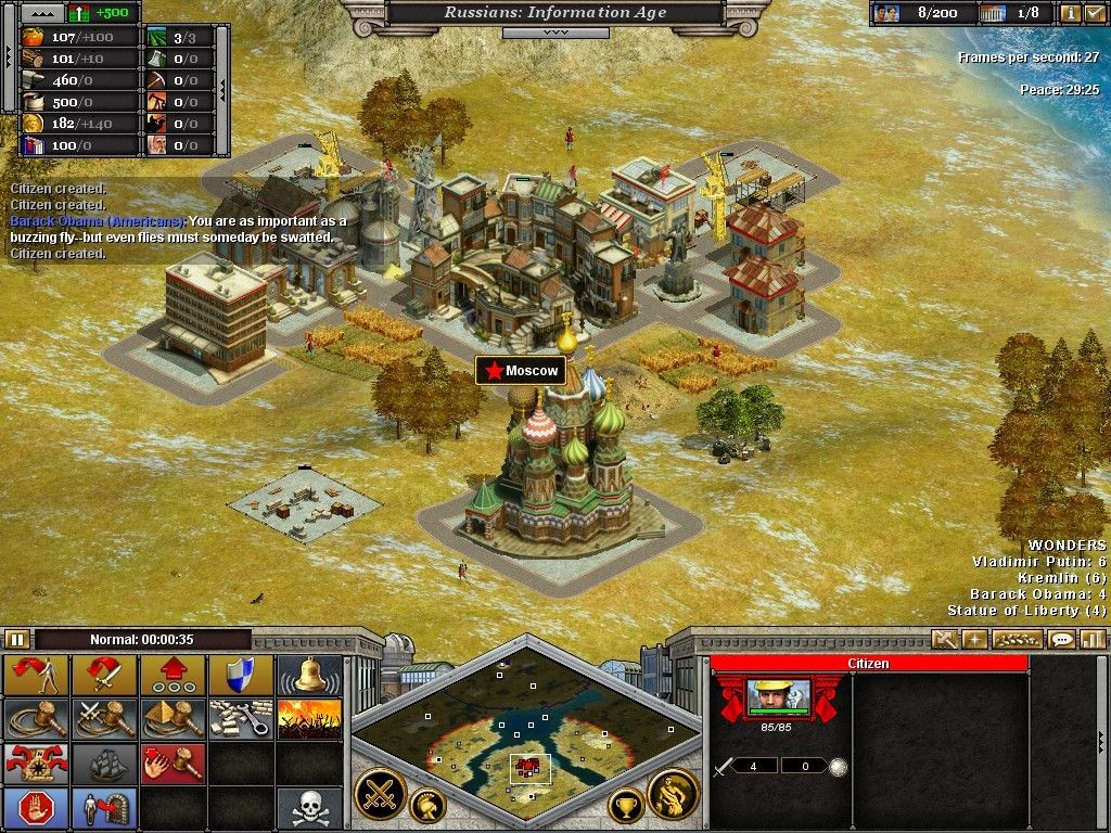 Real-Time Strategy Games Like Age of Empires Rise of Nations