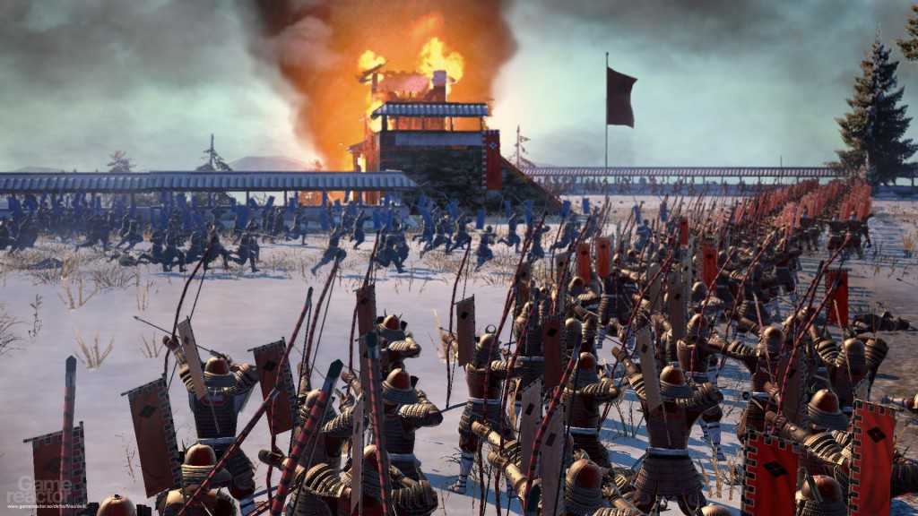 Real-Time Strategy Games Like Age of Empires Total War Shogun 2