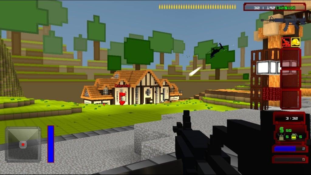 Sandbox Building Games Like Minecraft Guncraft