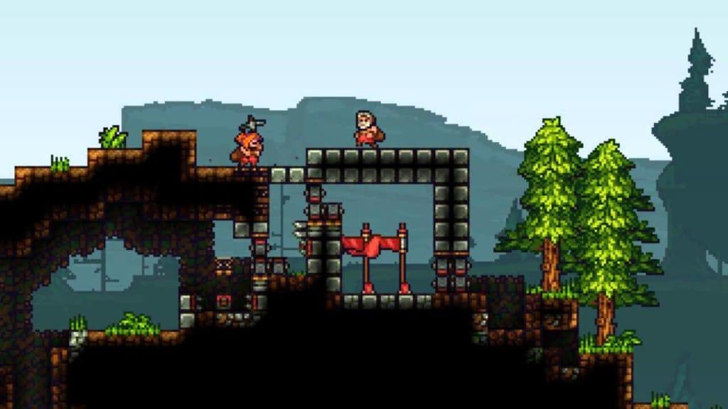 Sandbox Building Games Like Minecraft King Arthur's Gold