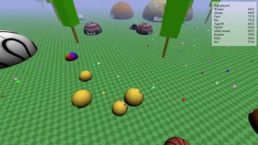 Time Killer Games Like Agar.io Biome3d