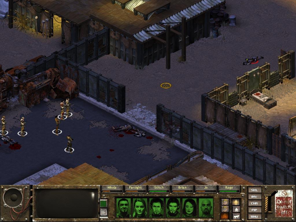 Turn Based Strategy Games Like XCOM Fallout Tactics Brotherhood of Steel
