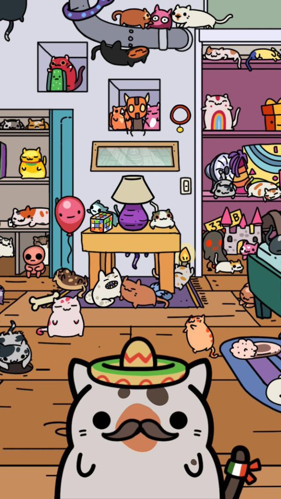 Cute Animal Games Like Neko Atsume Kleptocats