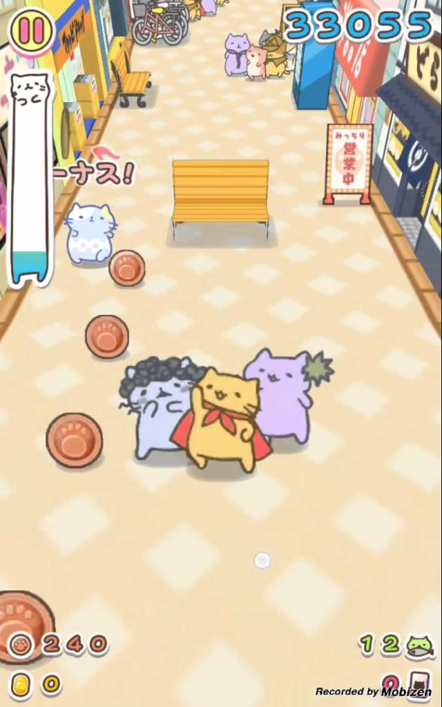 Cute Animal Games Like Neko Atsume Mitchiri Neko Dash