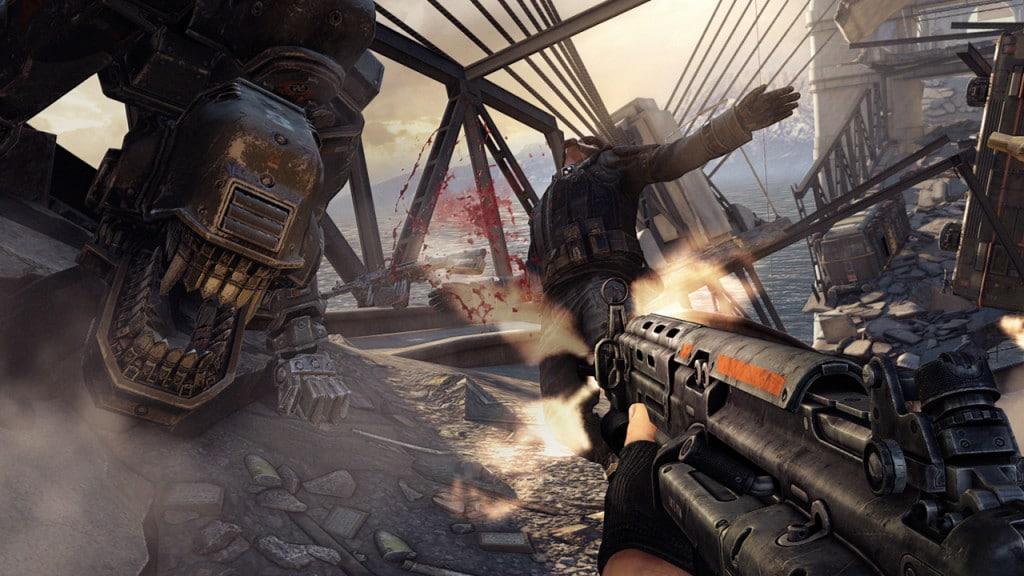 Old Skool FPS Games Like Doom Wolfenstein The New Order