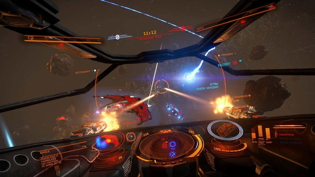 Planet Landing Games Like No Man's Sky Elite Dangerous