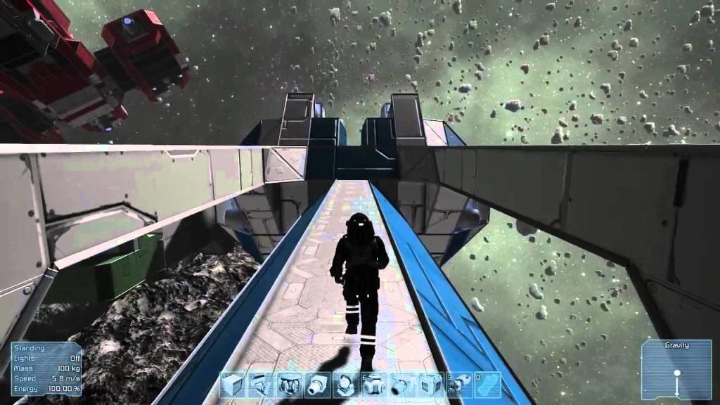 Planet Landing Games Like No Man's Sky Space Engineers