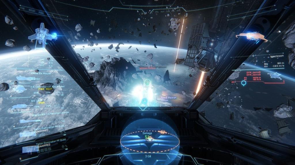 Planet Landing Games Like No Man's Sky Star Citizen