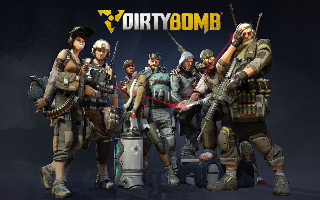 Online Team Arena Games Like Overwatch MOBA Dirty Bomb