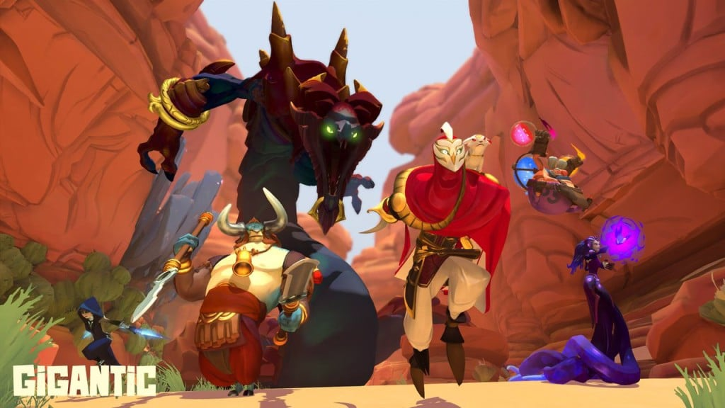 Online Team Arena Games Like Overwatch MOBA Gigantic