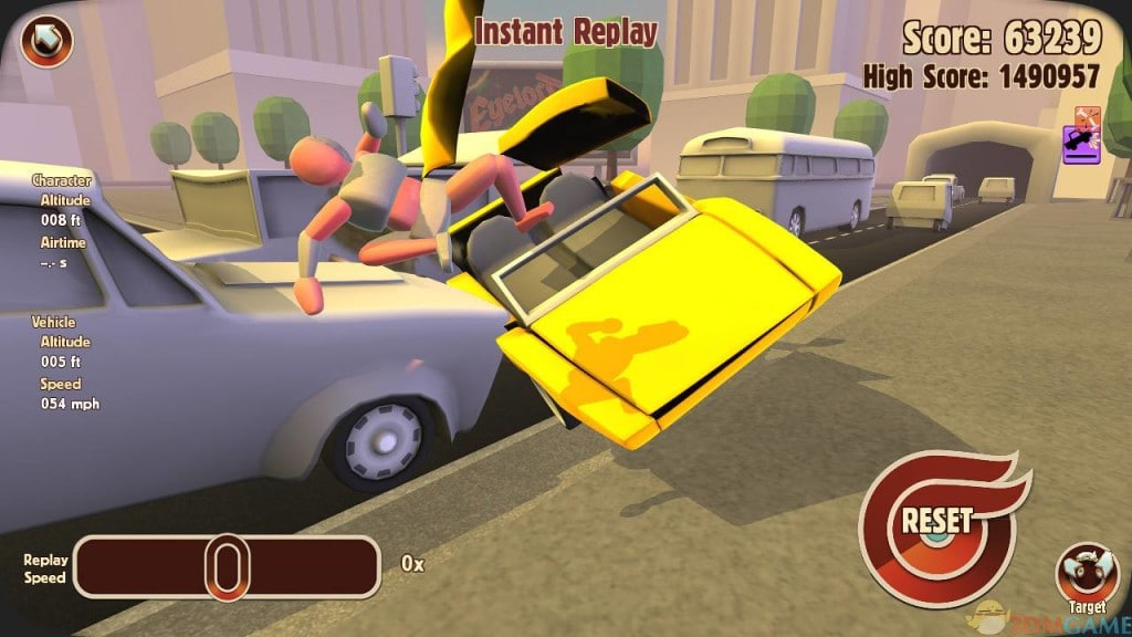 Ragdoll Physics Games Like Happy Wheels Turbo Dismount