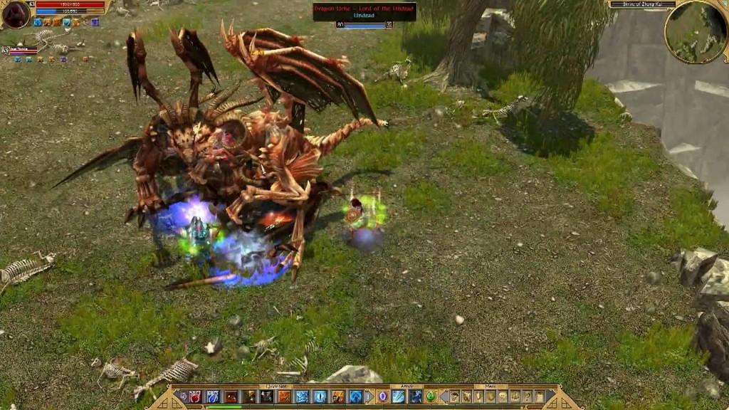 Hack and Slash Games Like Diablo 3 Titan Quest