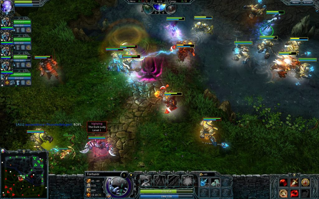 Best MOBA Games Like League of Legends Heroes of Newerth
