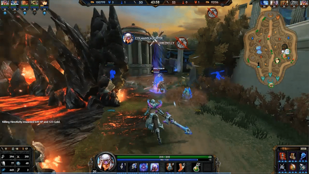 Best MOBA Games Like League of Legends Smite