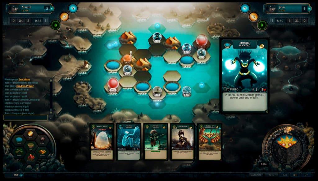 Online Card Games Like Hearthstone Faeria