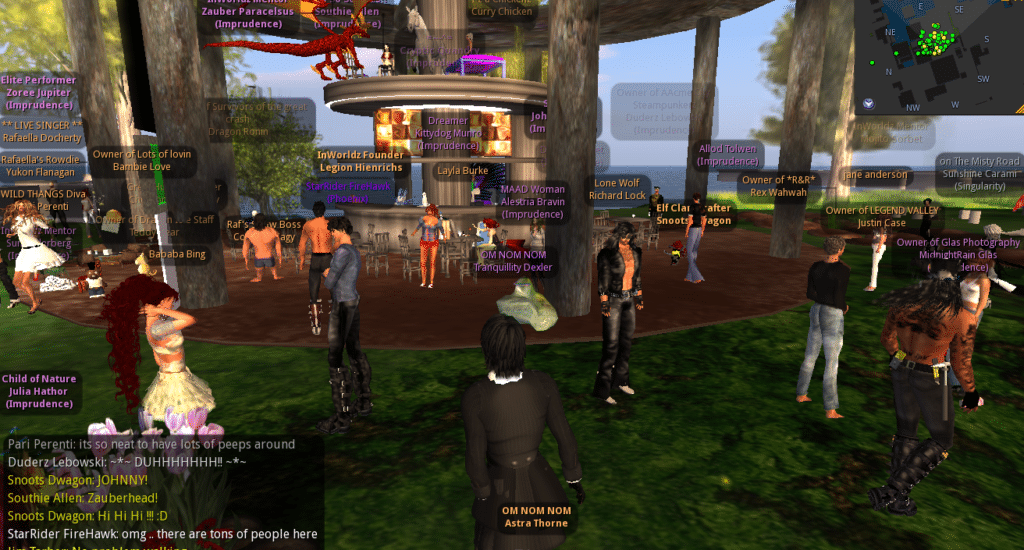 Online Virtual World Games Like Second Life inWorldz