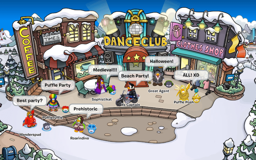 Online Family Games Like Animal Jam Club Penguin