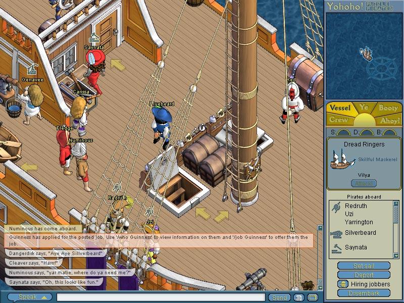 Pirates Online Game