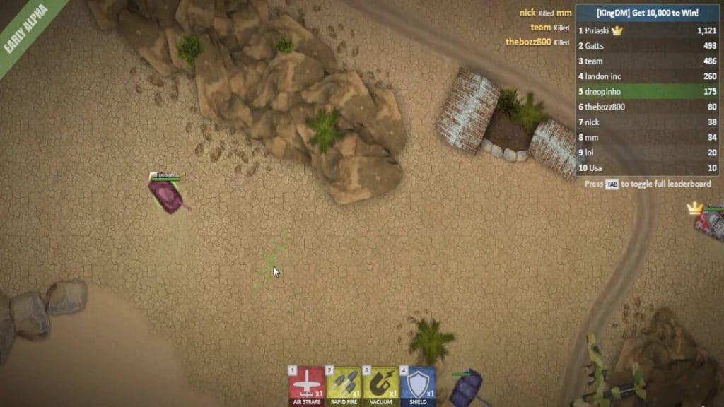 Best .io games like Diep.io TankWars.io