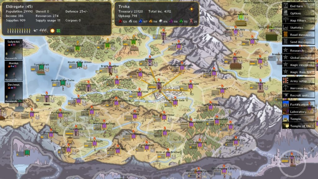 Best 4X Games Like Civilization Civ Dominions 4 Thrones of Ascension