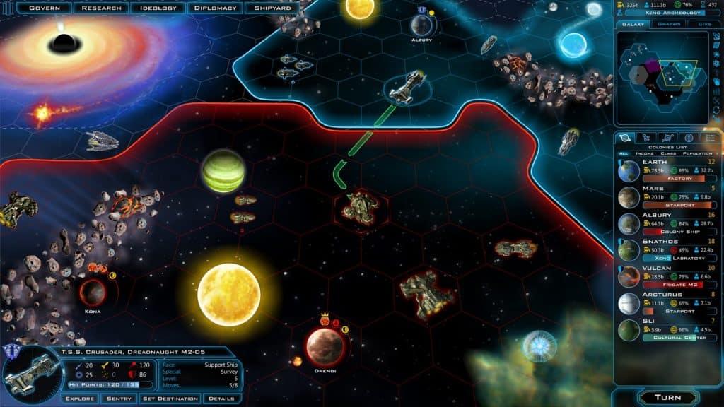 Best 4X Games Like Civilization Civ Galactic Civilizations III