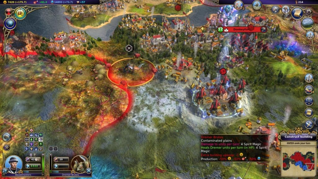 Best 4X Games Like Civilization Civ Warlock Master of the Arcane
