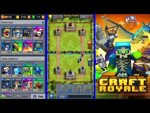 Best Mobile Strategy Games Like Clash Royale Craft Royale