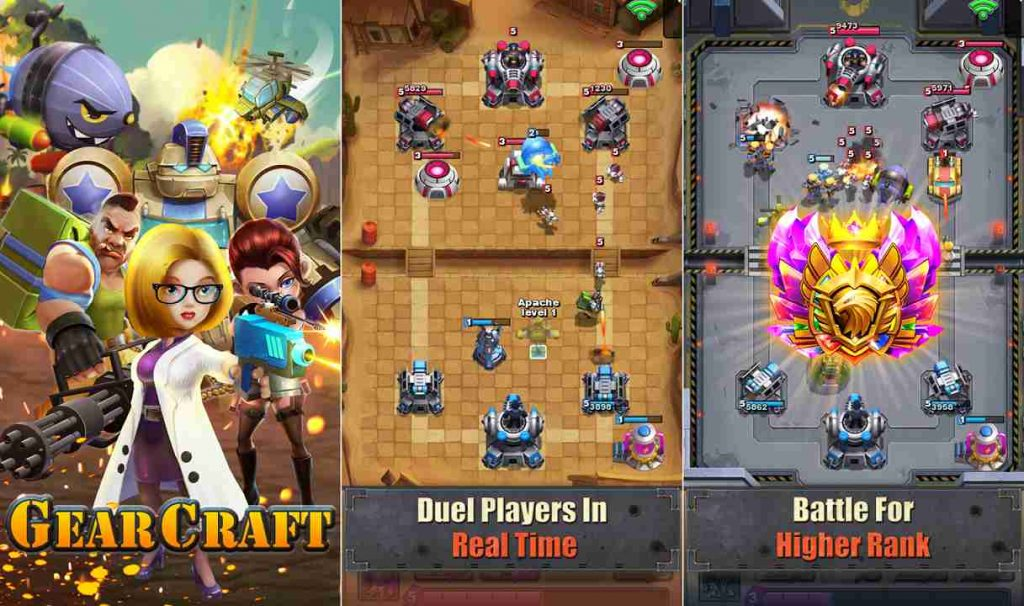 Best Mobile Strategy Games Like Clash Royale Gear Craft