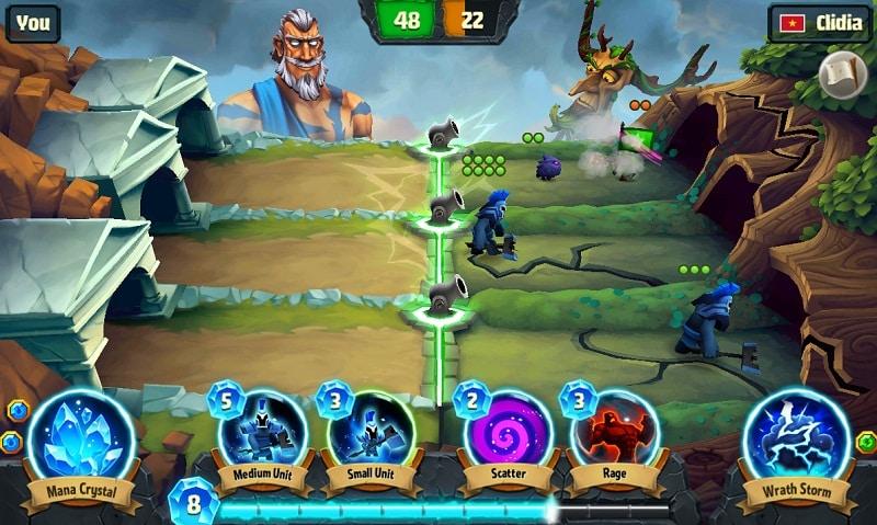 Best Mobile Strategy Games Like Clash Royale Spellbinders